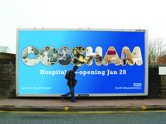 cossham hospital outdoor campaign now live