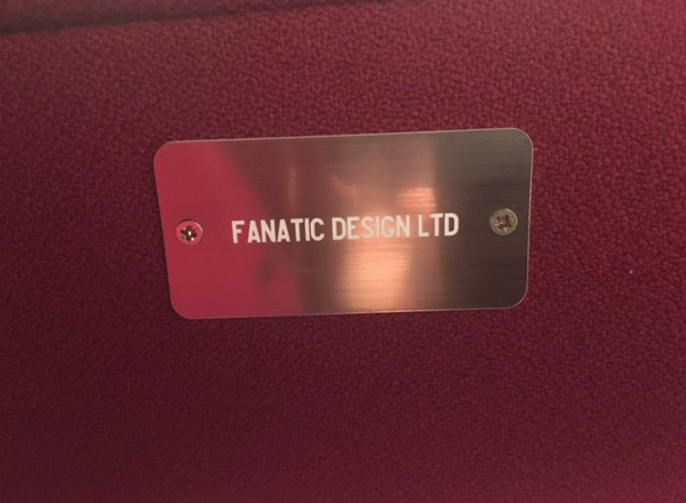 Fanatic Design's seat at the Tobacco Factory