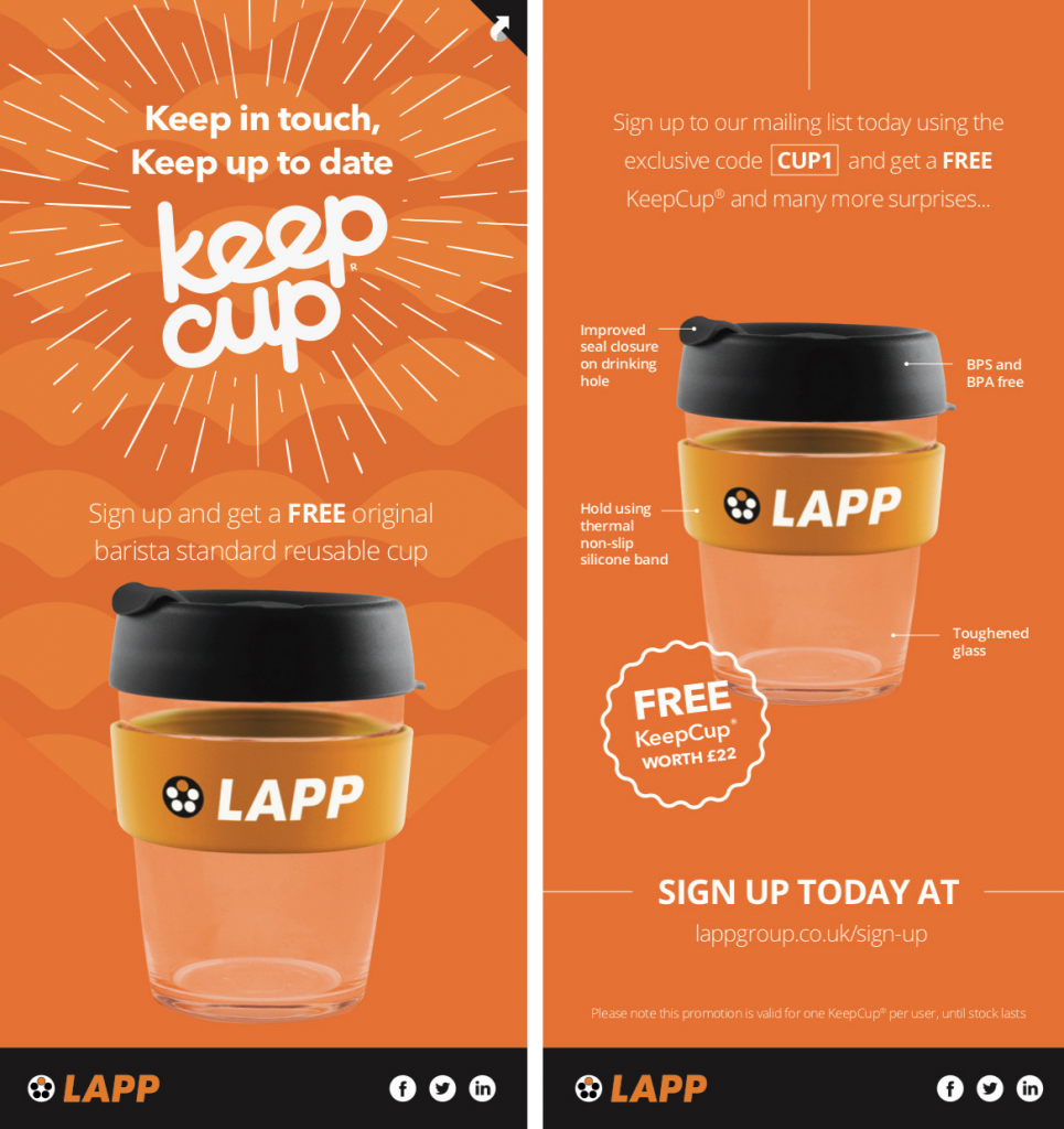 marketing campaign keepcup